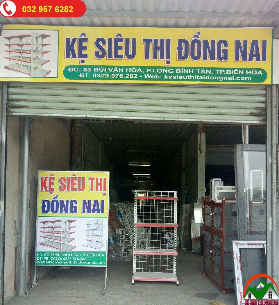 Kệ Siêu Thị Tại Biên Hòa Đồng Nai - Kệ Siêu Thị Đôi Lưng Lưới