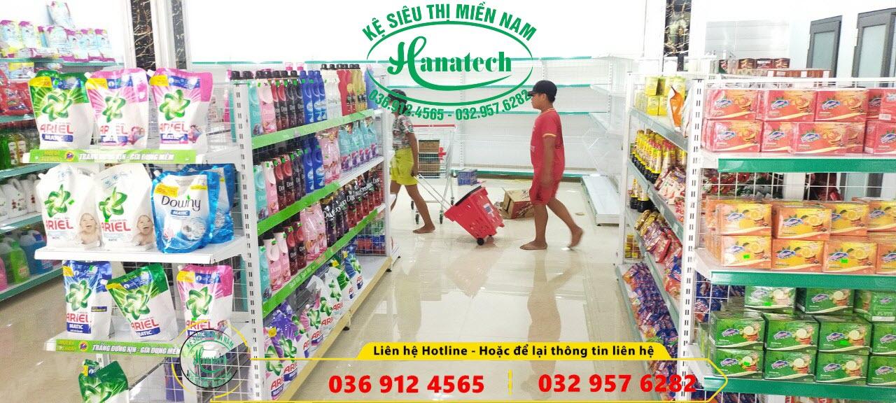 Giá kệ cửa hàng tiện ích tự chọn tại Tay Ninh