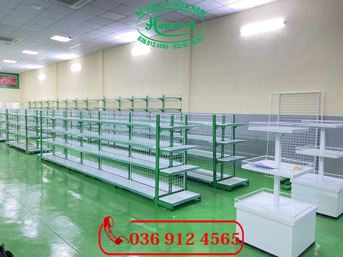 Giá kệ siêu thị trưng bày thực phẩm sạch tại Tây Ninh