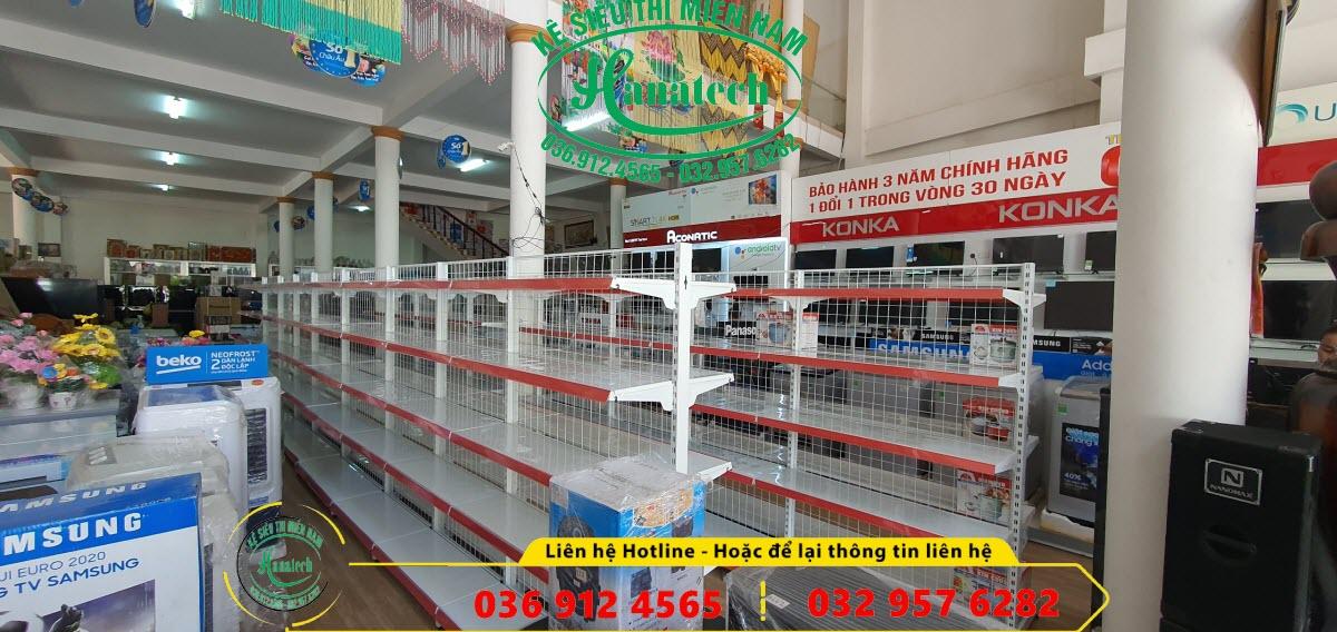Giá kệ trưng bày điện máy tại Bình Phước