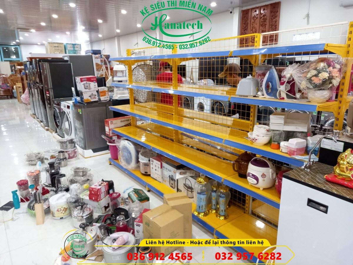Giá kệ siêu thị điện máy tại Bình Phước