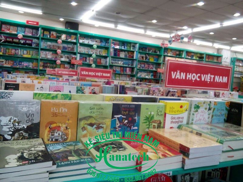 Kệ siêu thị Sách tại Đồng Nai