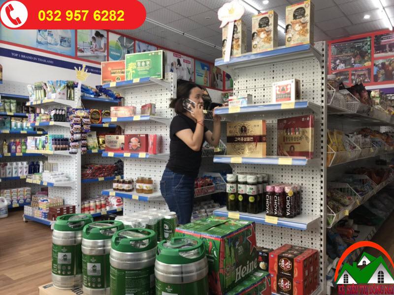 Kệ siêu thị Mini tại Đồng Nai