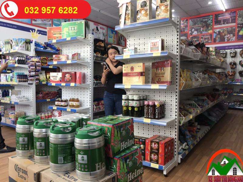 Kệ siêu thị tại Đồng Nai giá rẻ