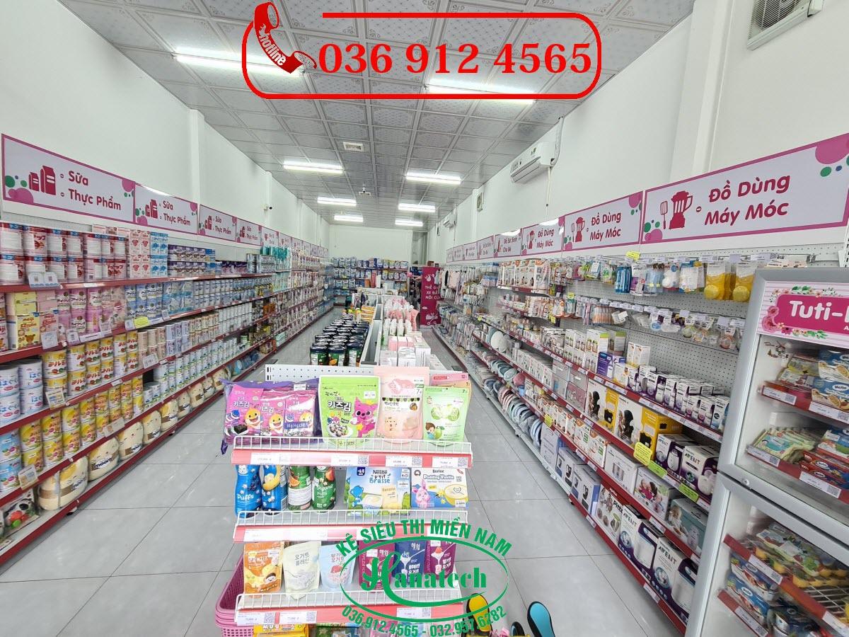 Giá kệ siêu thị tại Tây Ninh